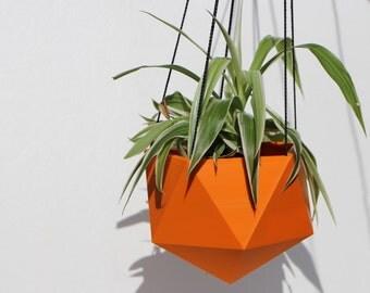 Hanging planter Icosahedron 3D printed