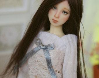 7cm (2,75in) BJD wig (Rosen Garden Fleur size) 1/12 size BROWN