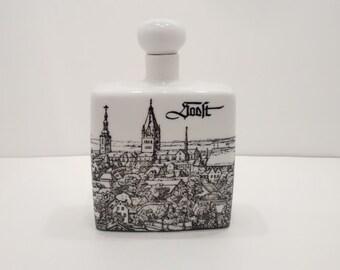 Vintage Altenkunstadt  Porcelain Flask Decanter