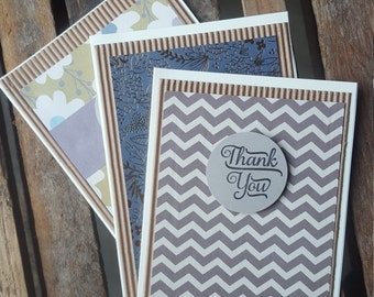 Thank You Cards >> Set of 3