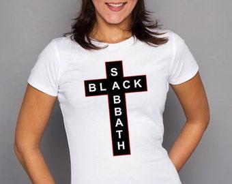 Black Sabbath Women T-shirt Black Sabbath Women Tshirt Rock Women Shirt