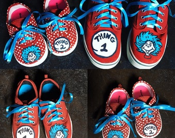 Custom Painted Cartoon Shoes! Made to Order
