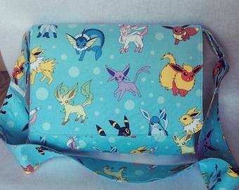 Handmade Pokemon Eevee Messenger Bag