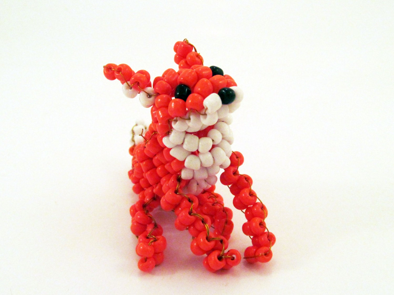 beaded fox beading ideas animals beading designs by