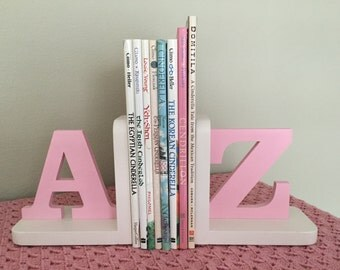 A to Z Girls Bookends