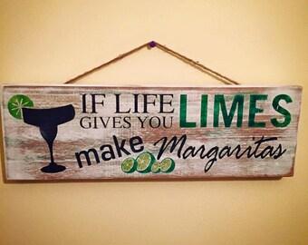 Summertime Margarita Sign