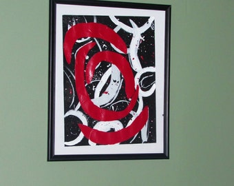 Abstract painting, Acrylic Painting,