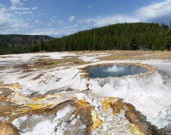 Yellowstone Hot Spring 8x10 Photo