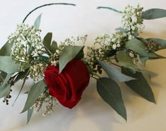 Baby/Child/Adult Valentine's Floral Crown
