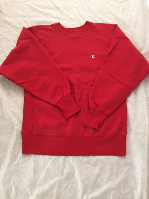 vtg vintage champion pullover sweatshirt long sleeve reverse. Black Bedroom Furniture Sets. Home Design Ideas