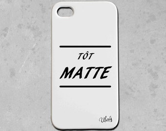 Iphone case early MATTE