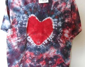 100% cotton Tie Dye T-shirt MMXL63 size XL