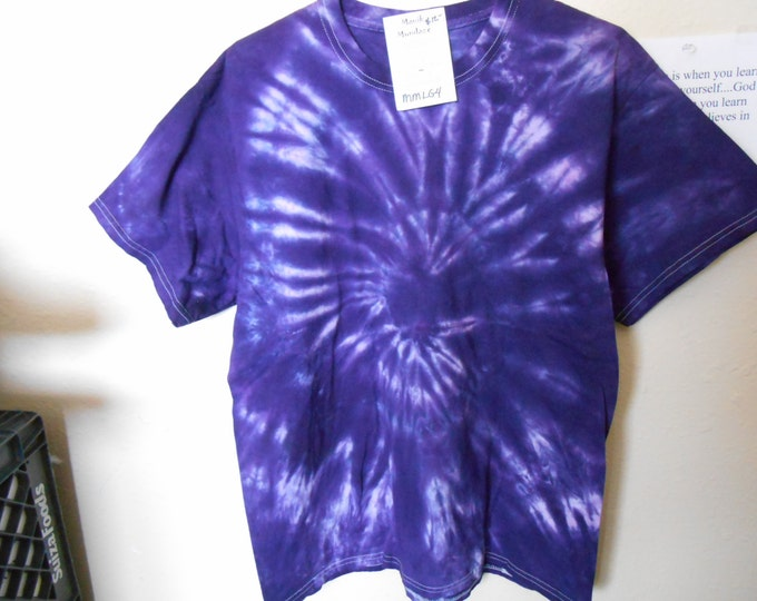 100% cotton Tie Dye T shirt MMLG4 size Large