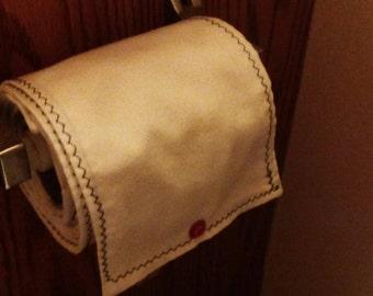 Unpaper tissues.  With elastic attachment.