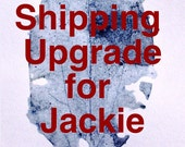 Shipping Upgrade - including tracking - for Jackie's order