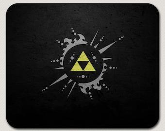 Legend of Zelda Triforce 1 Mousepad