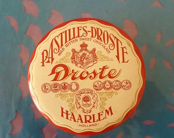 Tin old Pastilles Droste Holland