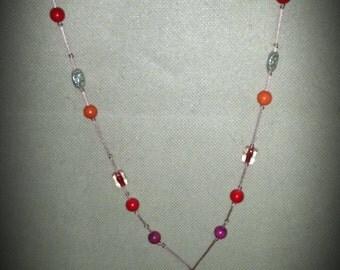 handmade turkish oya kolye