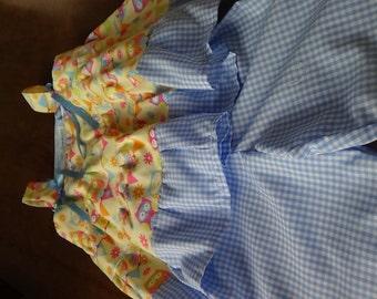 Handmade Sundress and shorts