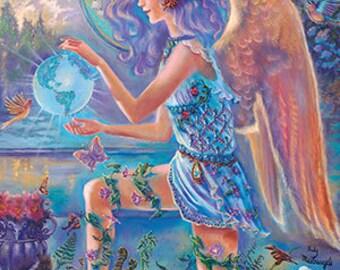 Angel & Fairies Inspirational Wisdom Deck