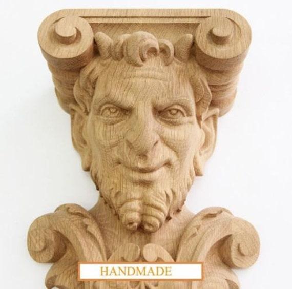 animal wood corbels bacchus hand carved wood corbel bracket support grapevine oak