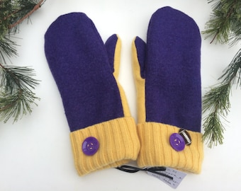 "Cashmere ""Vikings"" Sweater mittens"