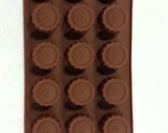 Taavi Silicone Circled BonBon Mold (Candy, Chocolate, Finger Jello) (T-828)