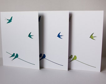 swallows cards