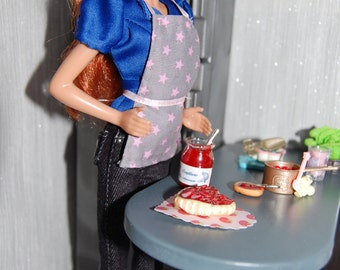 cake for Valentin' day 1/6 Barbie/ fashion royalty