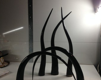 Modern Sculptural Form made of film