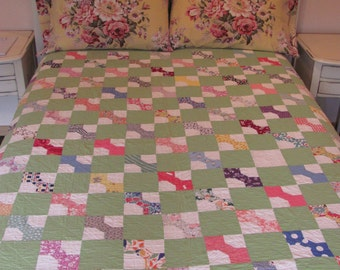 Bow Tie Antique Quilt