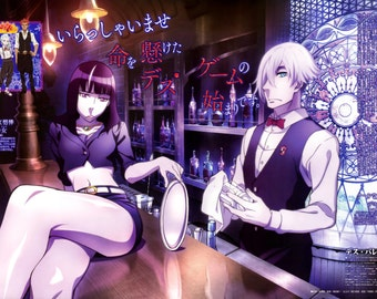 Death Parade Anime Poster