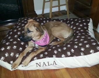 Personalized. Custom Dog Beds