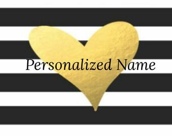Add a personalized name