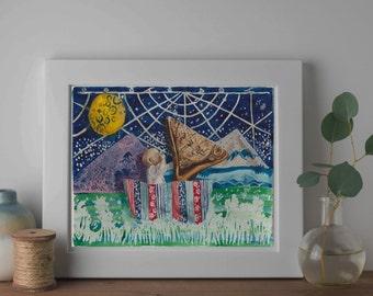Wrapaholics Dream Print