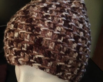 Crocheted Hat and Cowl