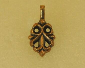 Amulet Pendant Blossoming Cross