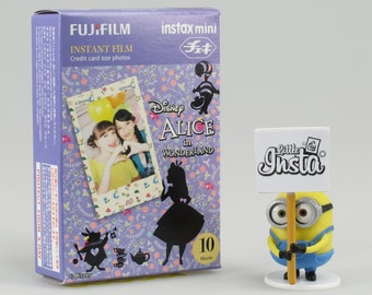 Fujifilm Instax Film Mini Alice in Wonderlands - For Instax Mini 7, 8, 8+, 25, 50, 70, 90, SP-1 and Polaroid PIC 300