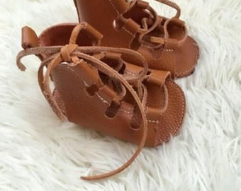 Soft soled baby gladiators