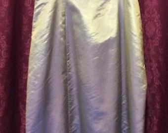 Alex Evening Green Blue Gold Shimmer Evening Gown Prom Dress Size 16