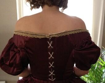 Baroque Dress - Period Clothing - 17th century