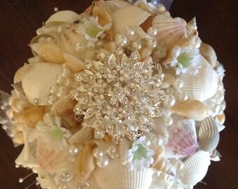Seashell bouquet! Shell bouquet