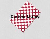Custom Listing  printable Invite