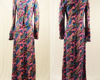 Pucci inspired maxi dress