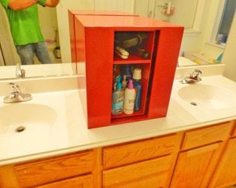 Spinning Bathroom Vanity Organizer