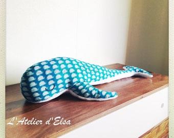 Plush whale Warren / Whale Plush Warren