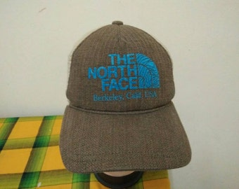 Rare Vintage THE NORTH FACE Cap Hat free size for all