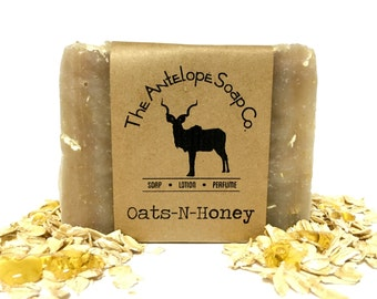 Oats-N-Honey Soap