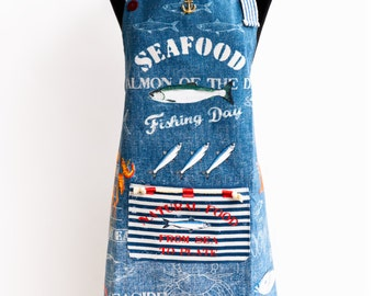 Apron SeaFood By Kitchen-chic