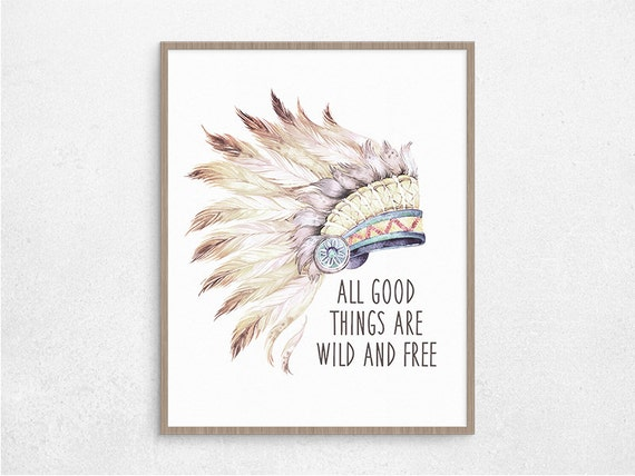 Sale 50 Off Digital Feather Art Quote Hippie Home Decor